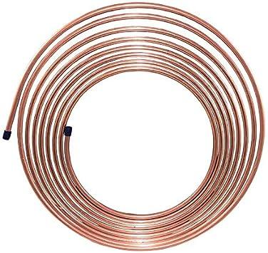"5//16/"" Copper Nickel 25 FT Brake and Trans Line//Tubing Cupro-Nickel Fuel"
