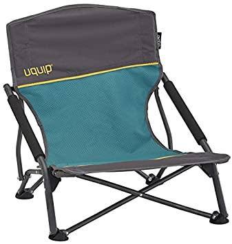 Uquip Sandy – Low Sling Beach Chair with Carry Bag Blue