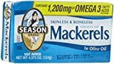 Season Fillets Of Mackerel In Olive Oil - 4.375 oz