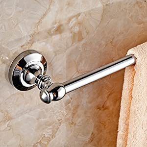 Solid brass Towel rack/Double Towel Bar/The bathroom Towel rack/Bathroom Towel rack/shelf -A well-wreapped