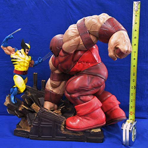 Iron Studios Marvel Comics X-Men Wolverine vs Juggernaut 1/6 Scale Battle Diorama -