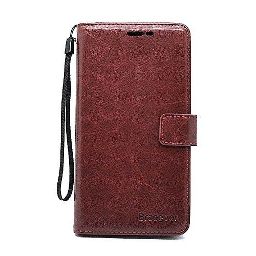 Bracevor Xiaomi Redmi Note 3 Flip Cover Case : Inner TPU,  Premium Leather Wallet Stand