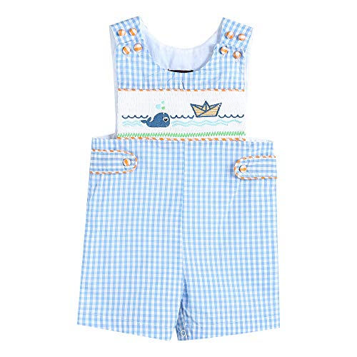 - 33811012092 Boys John Johns& Whale & Boat Blue