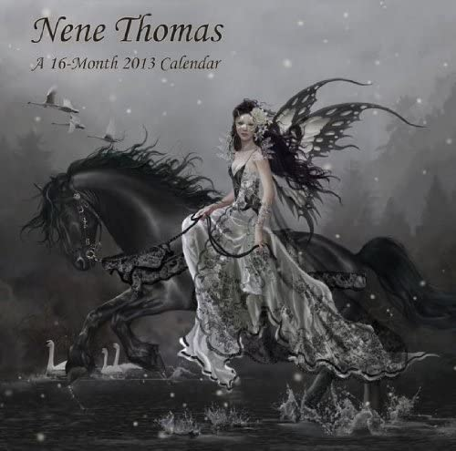 Nene Thomas 2021 Calendar Amazon.: The Art of Nene Thomas 2013 Fairy Fantasy Art Wall