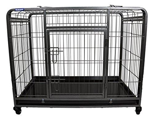 Pet Store The Premium Dog Crate with Lockable, Removable Nylon Wheels, Medium