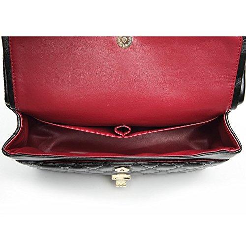 XMY Klassische Mode rhombische Kette Handtasche Handtasche Handtasche Klassische einfache vielseitige Schulter Messenger Bag B07L74QR9R Schultertaschen Hervorragende Funktion 3899ff