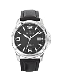 Certus Paris Men's 610937 Round Black Dial Date Watch