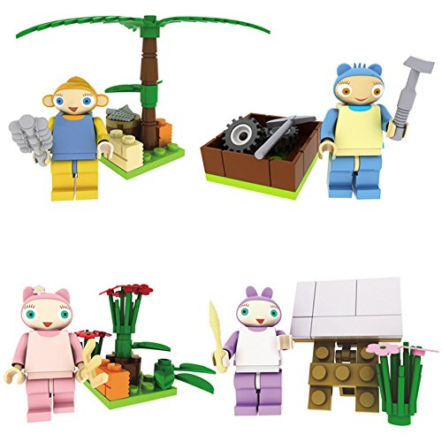 Pully Waybuloo Family Multicolor Plastic Blocks Set Diy Toy Include De Li Nok Tok Lau Lau Yojojo Buy Online In Indonesia At Desertcart Id Productid 19722970