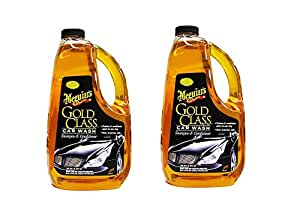 Meguiars G7164 Gold Class taBQA Car Wash Shampoo & Conditioner, 64 oz. (2 Pack)
