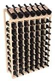 Wine Racks America Ponderosa Pine 7 Column 10 Row Display Top Kit. 13 Stains to Choose From!