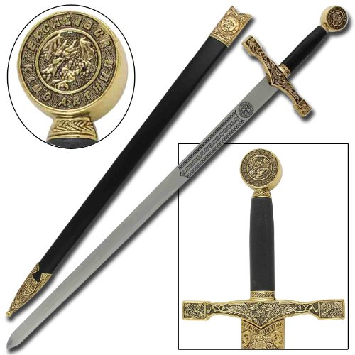 Excalibur Sword - King Arthur Excalibur Replica Steel Blade