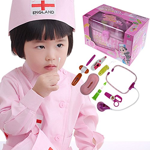 Doctor Toys Heartbeat Medical Pretend Play Actively Makes Children Make Friends With Other Kids In The Cosplay (Lambie Costume Makeup)