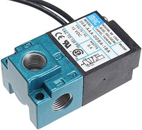 Alftek 3 Port DC 12 V Elektronische Boost Control Magnetventil F/ür ECU 3-Port Elektronische Booster
