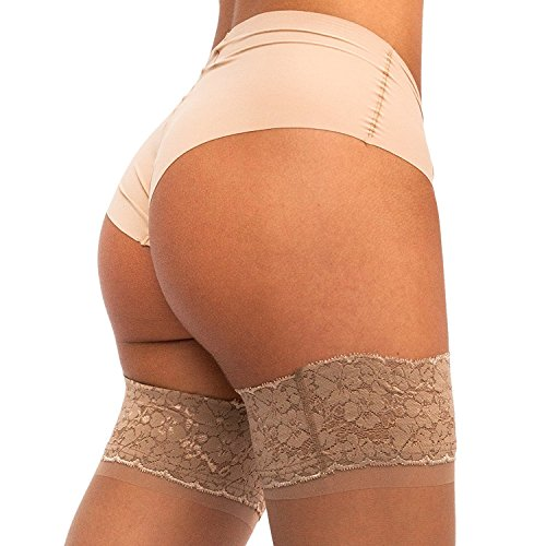 THIGH Silicone Stockings Pantyhose Denier product image
