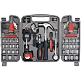 Apollo Tools DT9411 79 Piece Multi-Purpose Tool Set with Sockets and Most Reached for Hand Tools in Storage Case