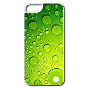 Personalize Fashion Green Bubbles Protective Case For Iphone 5/5S