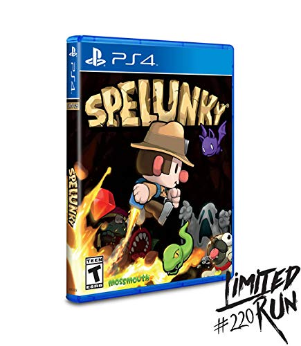 Spelunky (Limited Run #220) - Playstation 4 (Spelunky Game)