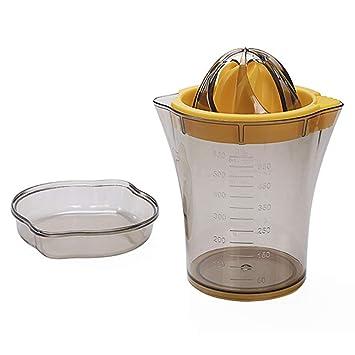 Bycws Exprimidor de limón, Naranjas Exprimidor de jugos cítricos, Accesorio para Vaso de Medida