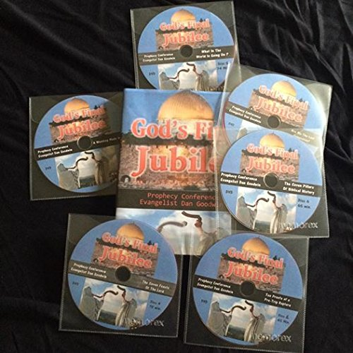 God's Final Jubilee Prophecy Conference Six DVD Set