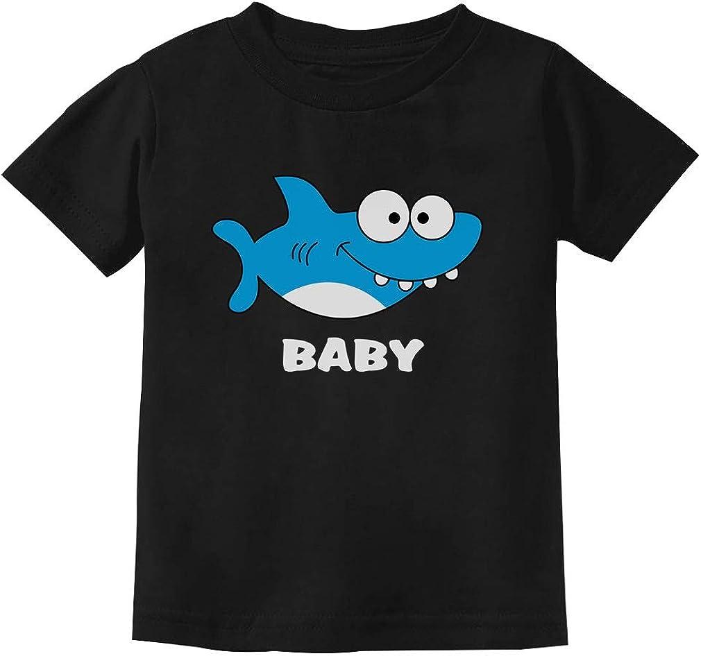 Shark Shirt for Boy or Girl Family Outfit Gift Toddler Kids T-Shirt