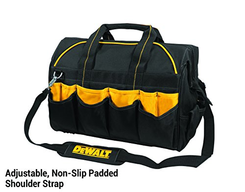 DEWALT DG5553 40 Pocket 18 Inch Pro Contractor's Closed Top Tool Bag by DEWALT (Image #4)
