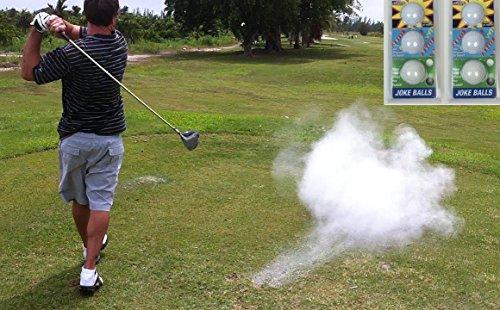 A99 Golf Joke Ball Exploding Golf Ball Prank Funny Gag Trick Gift 6 ()