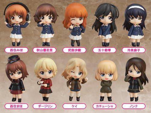 Nendoroid Petit Girls und Panzer Isuzu Hana separately From Japan