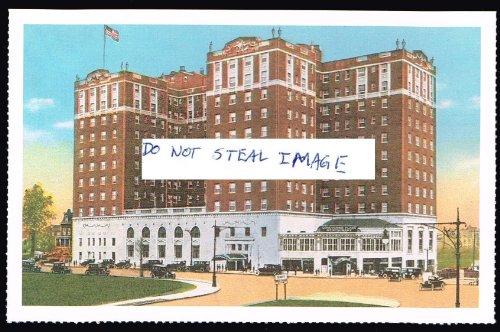 The Concourse Plaza Hotel Ca. 1923 Bronx New York Postcard (Bronx Plaza)