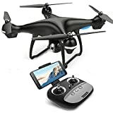 RC Drone with Camera, MaQue FPV Live Video and GPS Return Home Quadcopter with Adjustable Wide-Angle 720P HD WIFI Camera- Follow Me, Altitude Hold, Intelligent Battery, Long Control Distance