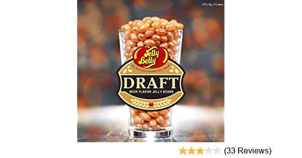 71ddc0986ad7 Amazon.com   DRAFT BEER Jelly Belly Jelly Beans - 1.25 Pound Bag (20 Oz)    Grocery   Gourmet Food