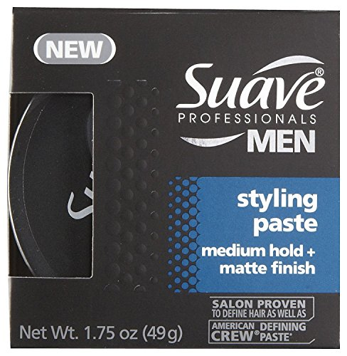 Suave Professionals Styling Paste - Medium Hold + Matte Fini