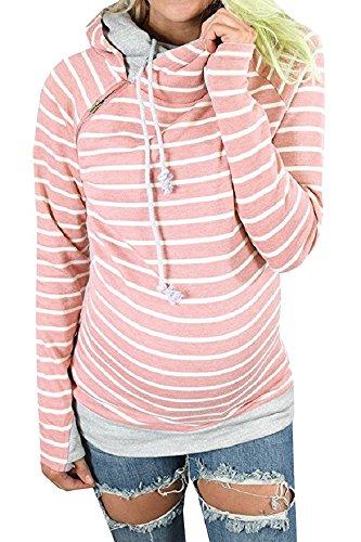 Cotton Striped Sweatshirt - 5