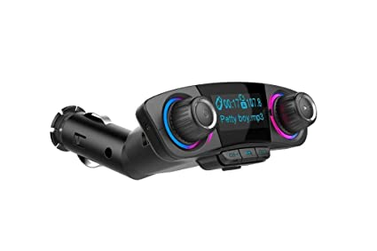 Amazon.com: LW BT06 coche Bluetooth Mp3 Fm transmisor coche ...