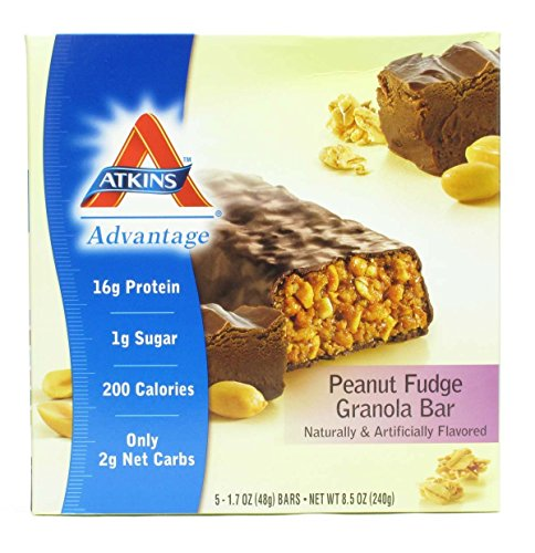 Atkins Advantage Peanut Fudge Granola Meal Bar