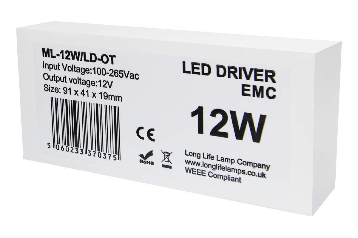 12w LED Driver Transformer for MR16-MR11-G4 LED Light Bulb Long Life Lamp