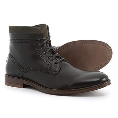 df9c6b977 Amazon.com | Johnston & Murphy Mens Grayson Calfskin Zip Boots (10 D US,  Black) | Shoes