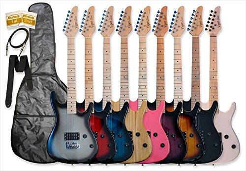 買得 Bguitars GE93-WH GE93-WH 39 in. Electric Guitar and Beauty with Electric Carrying Bag and Accessories in WhiteB00SU1HUGI, 財部町:aa62391f --- rsctarapur.com