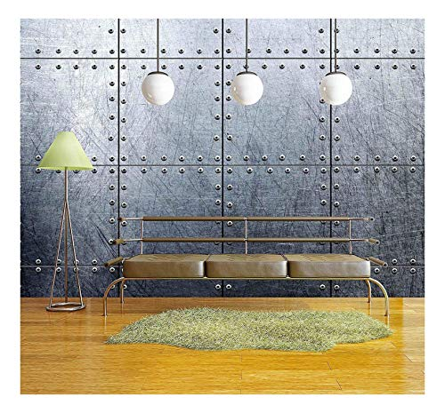 wall26 - Metal Wallpaper Background - Canvas Art Wall Decor - 66x96 inches