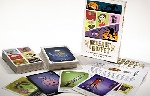 Peasant Buffet, Card Game for 5-7 Players, Ages 10 and Up, Adult Card Game, Halloween Games, Contains 100 Cards