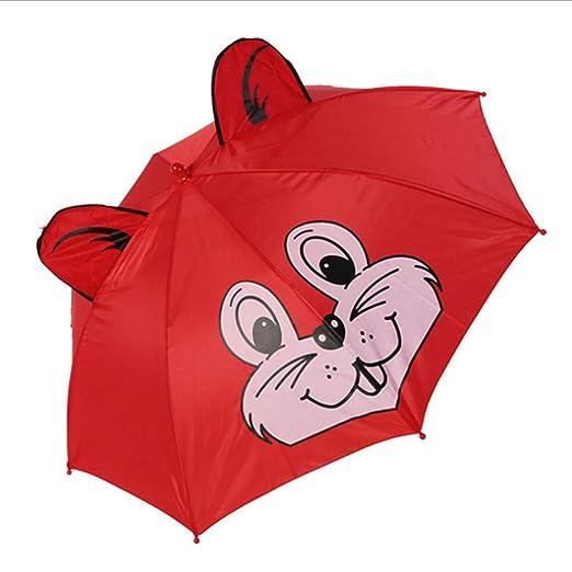 GJYWHF Sombrilla Paraguas para Niños para Niñas Niños Lindos ...