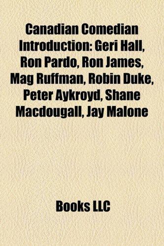 Canadian comedian Introduction: Boris Cherniak, Geri Hall ...
