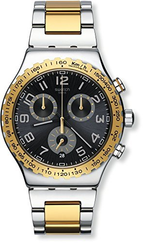 Swatch relojes nueva ironía Chrono Golden juventud yvs427g hombre [Regular importados]: Amazon.es: Relojes