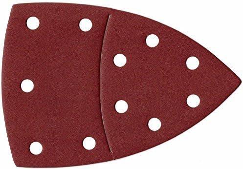 105 x 152 mm Korn 80 Schleifbl/ätter//Schleifpapier//Schleifscheiben 50 Blatt Klett Prio-Schleifpapier f/ür Multischleifer