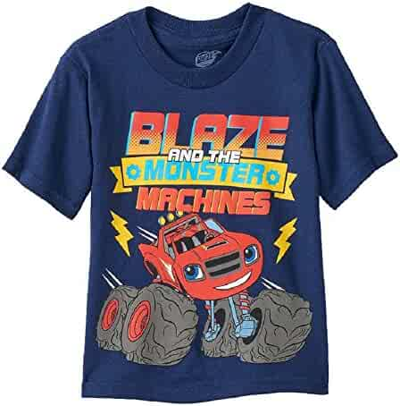 Blaze and the Monster Machines Boys' Short Sleeve T-Shirt
