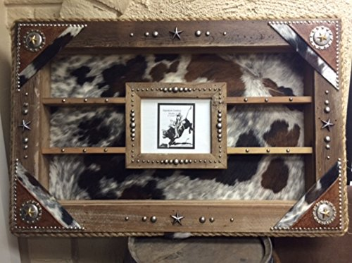 Custom Concho Large Picture Frame Award Buckle Display Case (Custom Conchos)