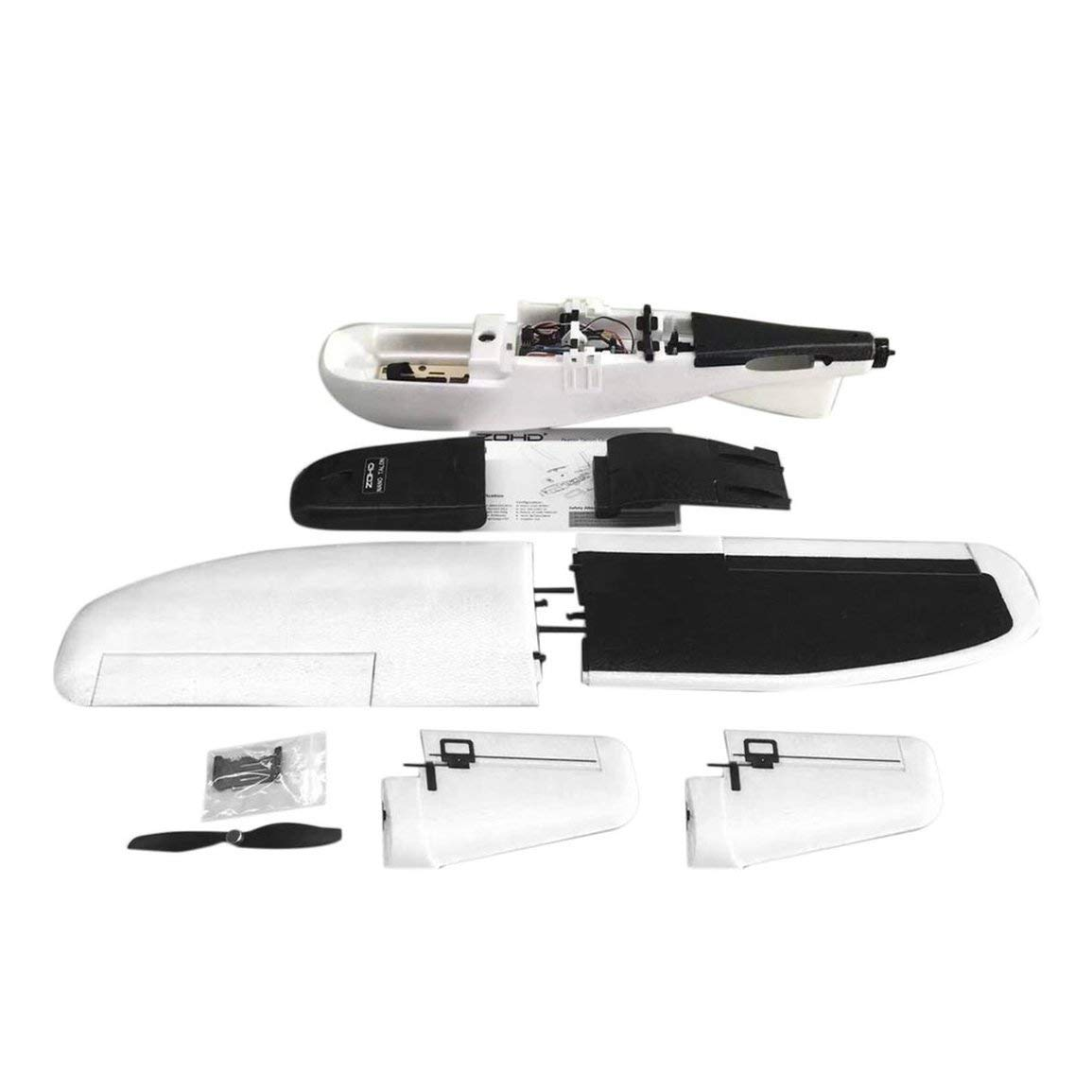 Fantasyworld Fantasyworld Fantasyworld ZOHD Nano Talon 860mm Spannweite Abnehmbare V-Leitwerk EPP RC FPV Flugzeug Flugzeug-Modell PNP Version mit Motor Gyro Servos ec383a