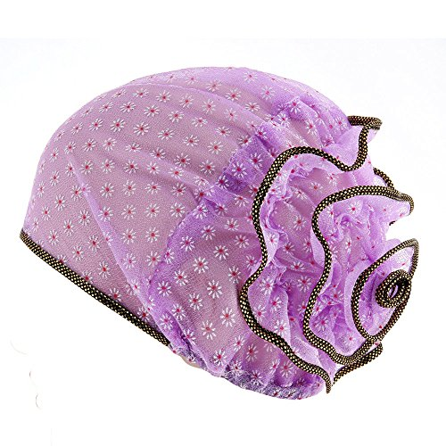 Molyveva New Women Muslim Stretch Turban Hat Chemo Floral Head Scarf Wrap Cap - State Fitted Hat
