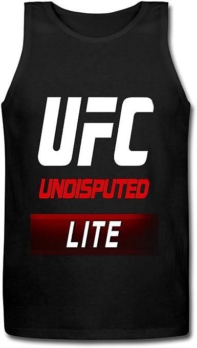 Jenny Dorothy UFC Undisputed Logo Mens T-Shirt Black Tank Top XXXX-L