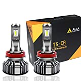2012 altima fog light kit - Alla Lighting 10000lm LED H11 Headlight Bulbs or Fog Lights Extremely Super Bright TS-CR H8 H9 H11 LED Headlight Bulbs or Fog Light Conversion Kits H11 Bulb, 6000K Xenon White (Set of 2)