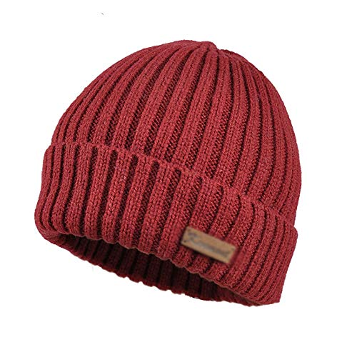 GaoYunQinhat DUXX Hat, Winter Hat Female Tide Pointy Hat Shag Line Cap Knitted Hat Autumn and Winter Fashion Curling Winter hat (Color : A)